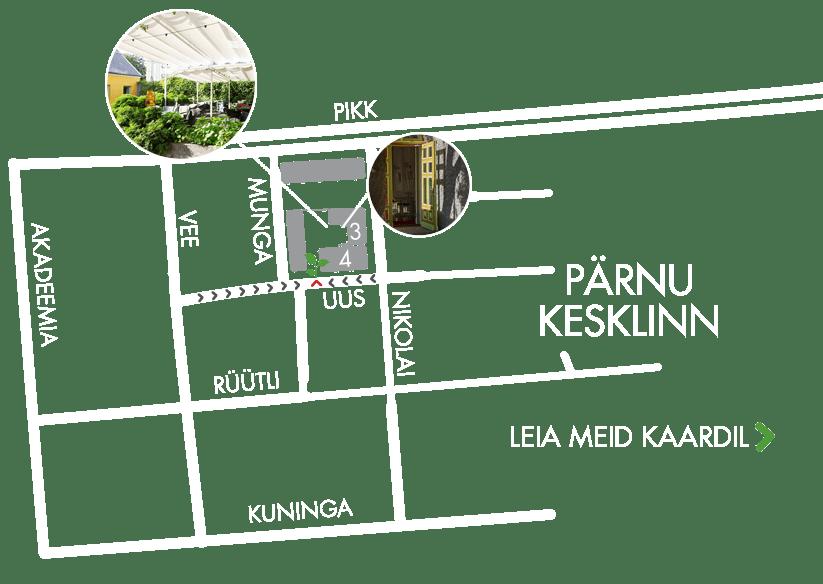 Hea Maa kohvik-restoran asukoha kaart