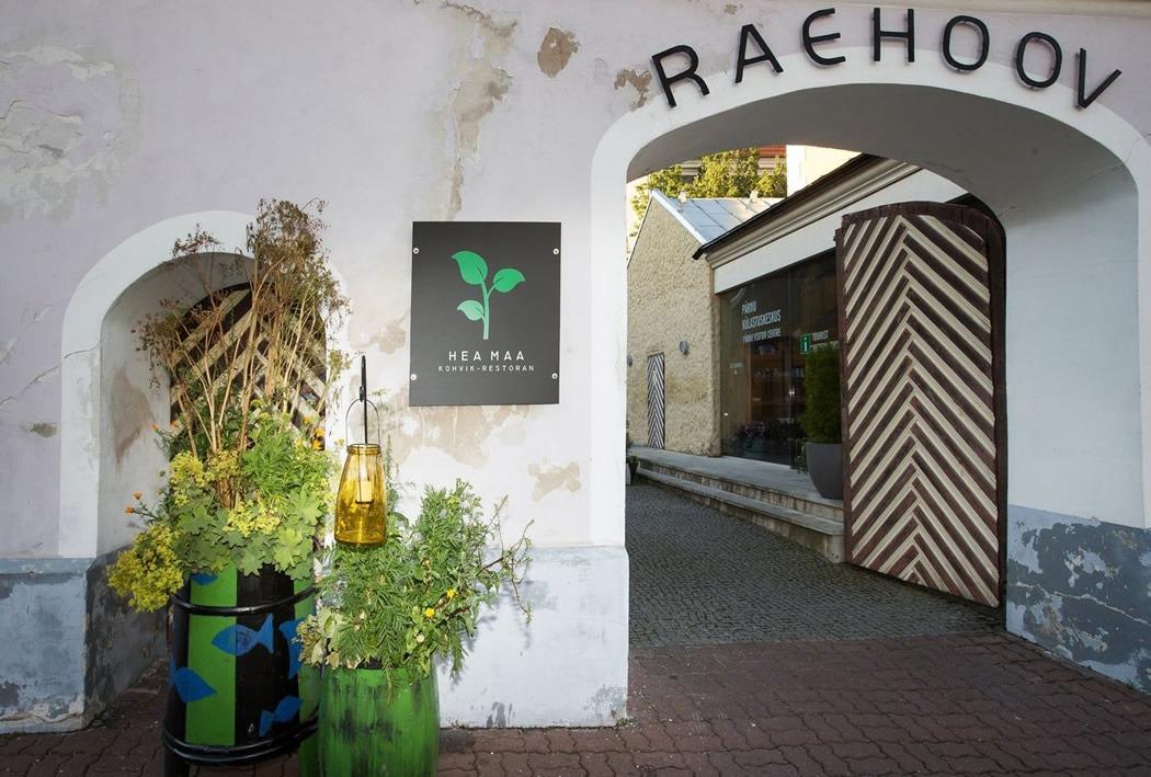 Mida teha Pärnus? Kohvik-Restoran Hea Maa. Söögikohad Pärnus