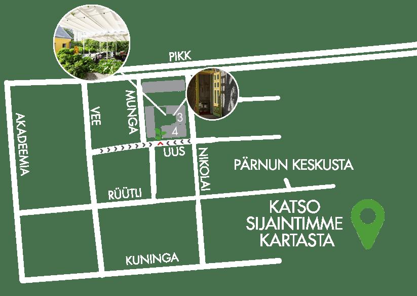 Kahvila-ravintola Hea Maa - ruokapaikka Pärnun keskustassa