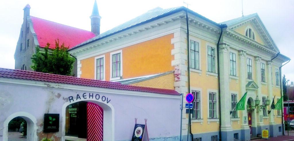 Pärnu ajalooline raekoda