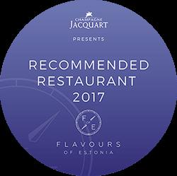 Pärnun ravintola Hea Maa Recommended restaurants 2017