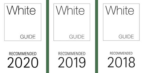 Söögikohad Pärnus Kohvik- restoran Hea Maa White Guide logo 2020